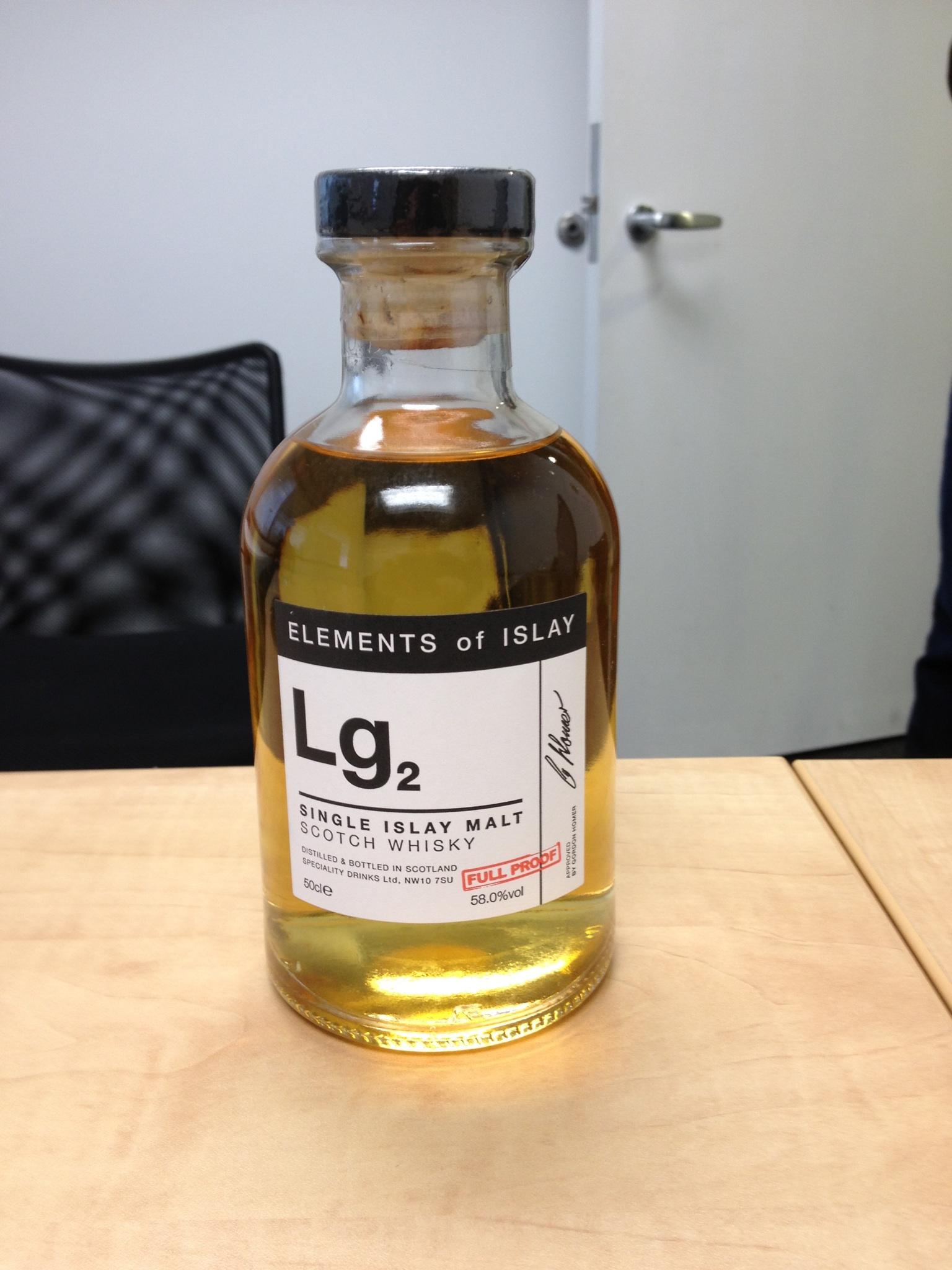 The Whisky Exchange bottled Lagavulin